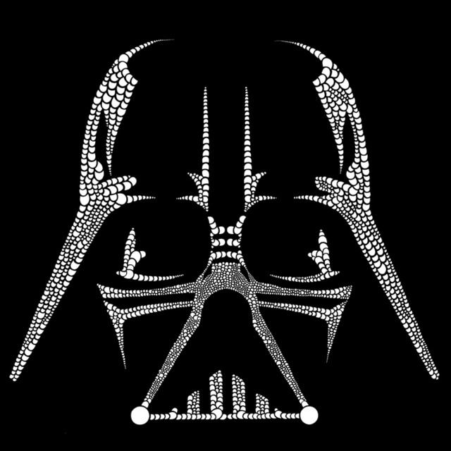 , 'Vader Doodle,' 2015, InLiquid