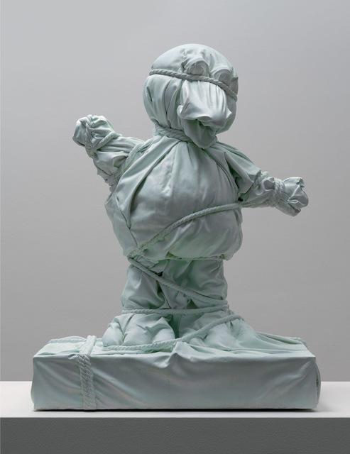 , 'Wrapped Bird Green,' 2018, Galerie Ron Mandos