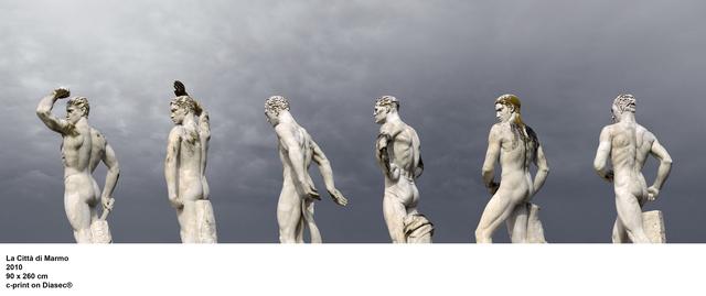 , 'La città di Marmo Roma, ,' 2010, Studio Trisorio