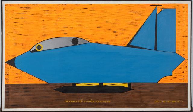 , 'Armamentos e Aviões as Forças,' 1998, Galeria Estação