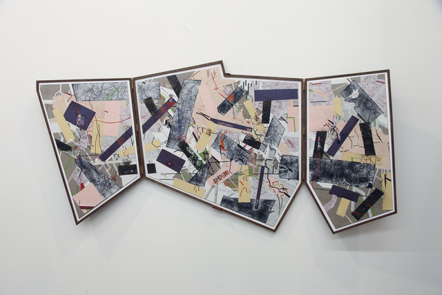 , 'All my scars,' 2014, Harlan Levey Projects