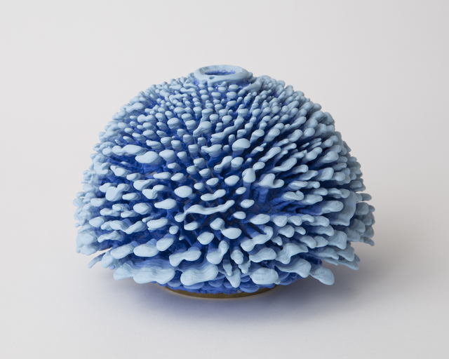 ", 'Unique, hand-thrown ceramic ""Tom Shorts"" Urchin,' 2017, R & Company"