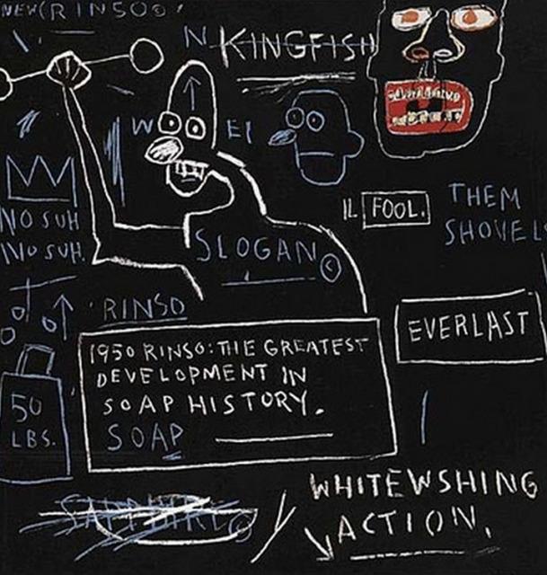 Jean-Michel Basquiat, 'Untitled (Rinso)', 1983-2001, Kings Wood Art