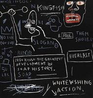 Jean-Michel Basquiat, Untitled (Rinso)