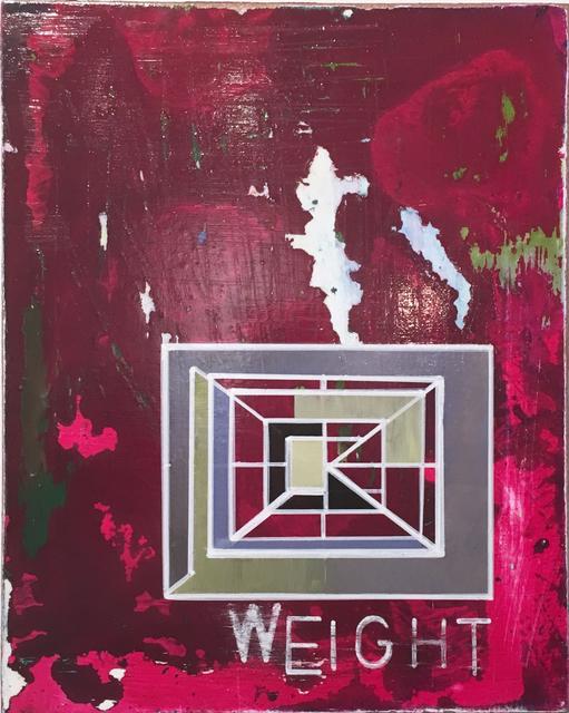 , 'Weight,' 2017, BoxHeart