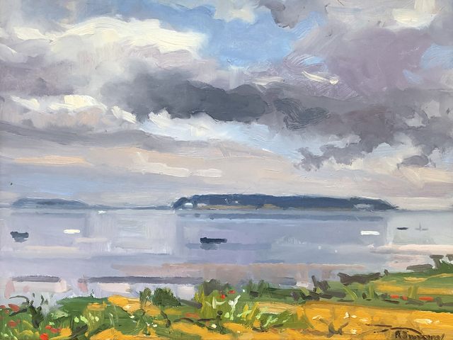, 'Passing Shower, Mayo Beach,' 2019, William Baczek Fine Arts