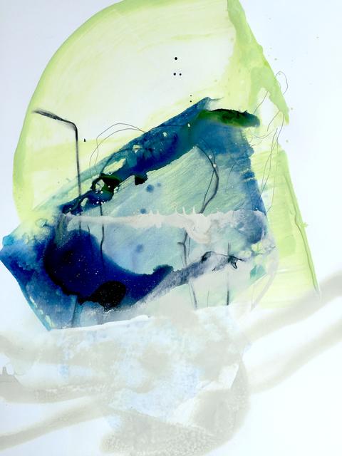 , 'Celestial Oceans of Aquas XII,' , Chicago Art Source