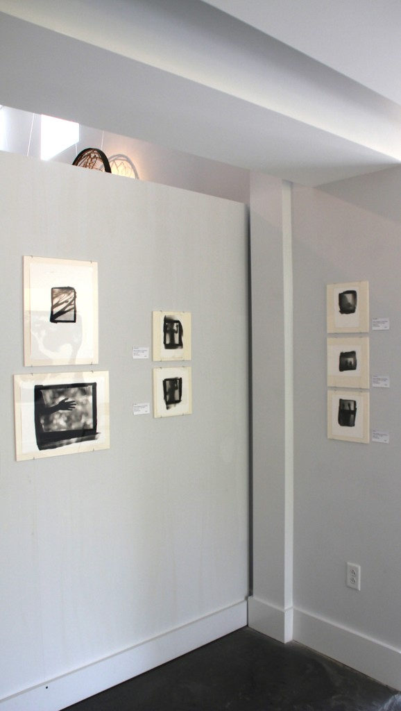 Left to Right: Platinum Palladium Prints, Mary West Quin