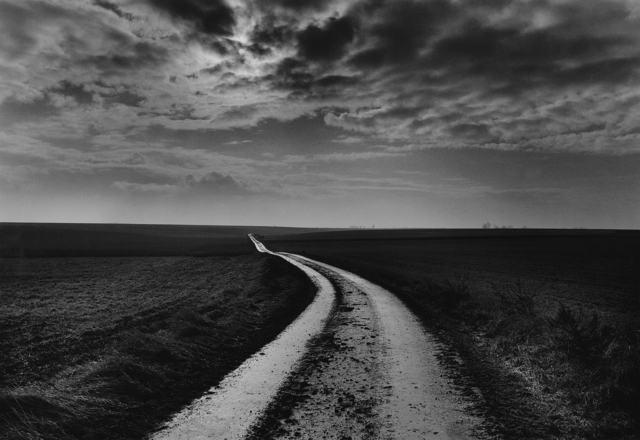 Don McCullin, 'Road to the battlefields, Somme, France', 2000, Howard Greenberg Gallery