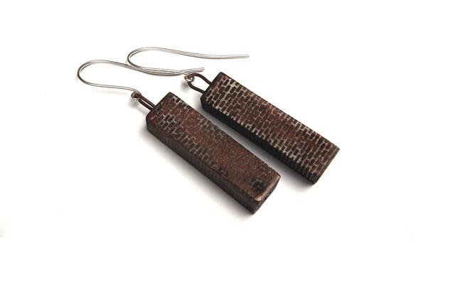 , 'Brickwork Earrings,' 2017, Facèré Jewelry Art Gallery