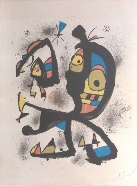 Joan Miró, 'For exposition Joan Miro Obra Grafica Fundacio Joan Miro ', 1980, Le Coin des Arts