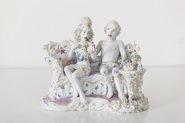 , 'Delicate Domain [Courtesy MEISSEN COUTURE® Art Collection,' 2014, Cynthia Corbett Gallery