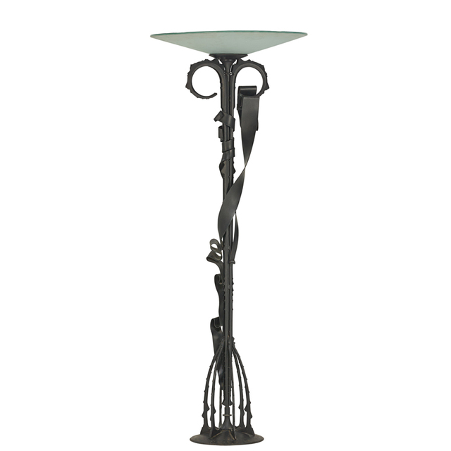 Albert Paley, 'Millennium floor lamp, edition of 30 (20 with blackened finish, 10 stainless), Rochester, NY', 1999, Rago