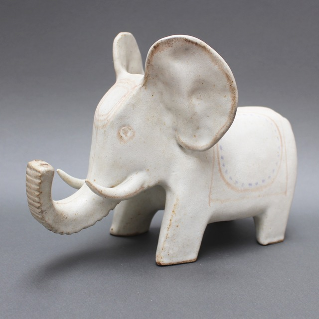 , ''Ceramic White Elephant',' 1970-1979, Bureau of Interior Affairs