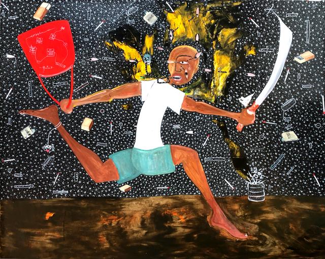 Henri Abraham Univers, 'Microbe (Petit Voleur)', 2019, Retro Africa