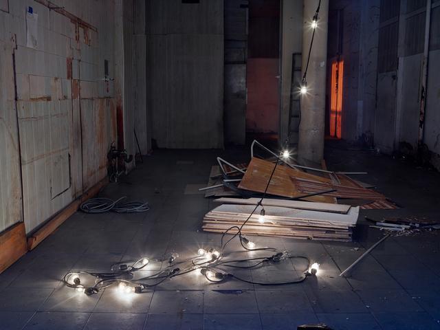 , 'String of Lights,' 2014, Yancey Richardson Gallery