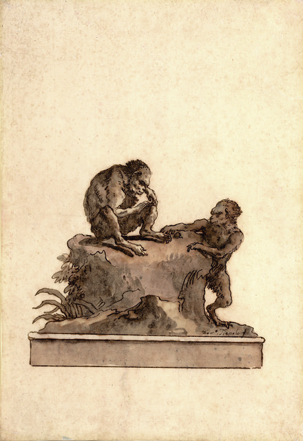 , 'Two Monkeys on a Rock,' , Stephen Ongpin Fine Art