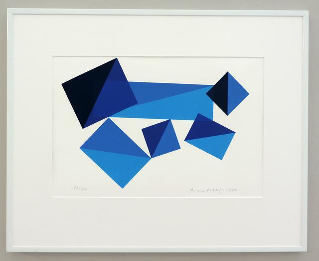 Piero Dorazio, 'TAC-TIC ', 1995, Galerie La Ligne