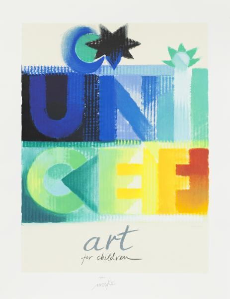 , 'Unicef - Art for Children,' 1998, Galerie Kellermann