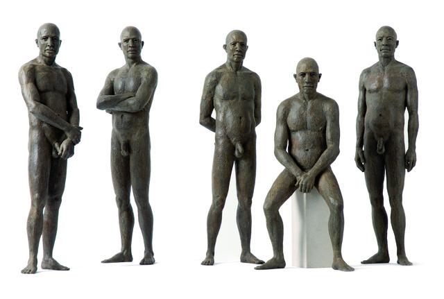 James Mathison, 'Personajes I al V', 2007, Galería RGR