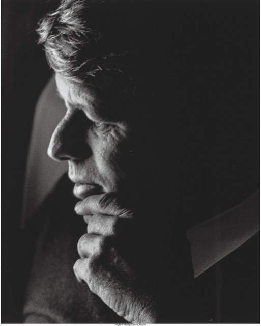 Lawrence Schiller, 'Robert Kennedy, Last Campaign, April', 1968, Heritage Auctions