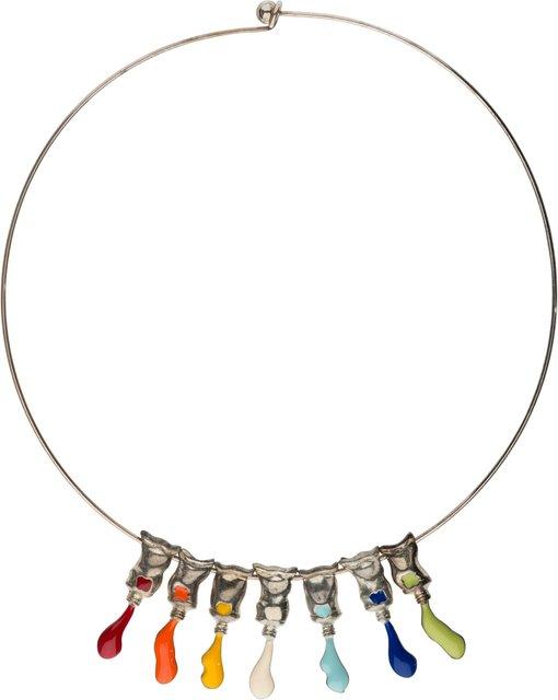 Arman, 'Paint Tube Necklace', Heritage Auctions