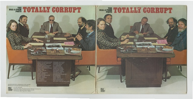 , 'The Dial-A-Poem Poets : Totally Corrupt GPS 008-009,' 1976, Palais de Tokyo