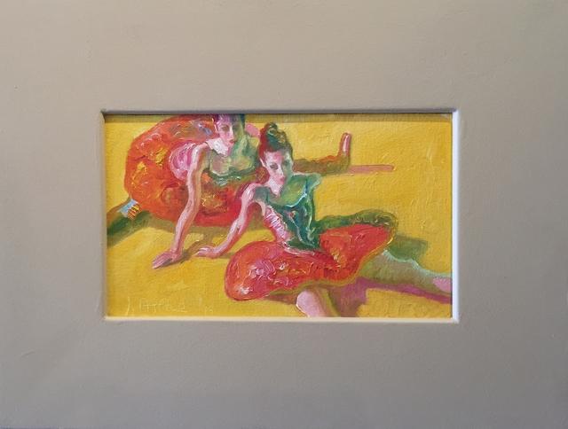 John Asaro, 'Dancers Green', Ethos Contemporary Art