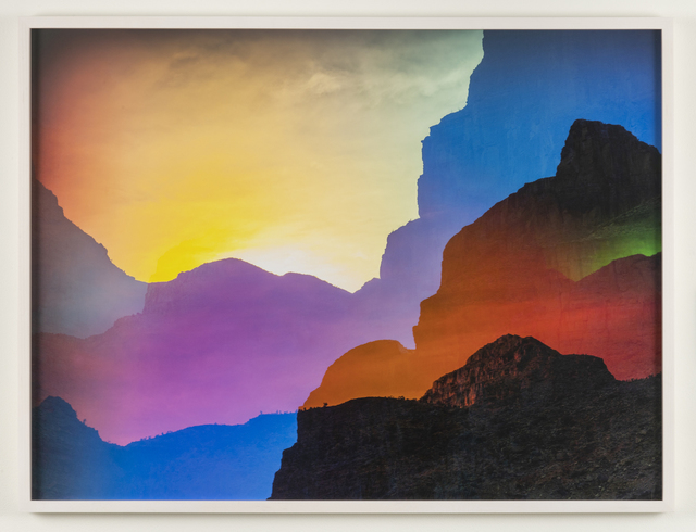 , 'Psychscape 08 (Peach Springs Canyon, AZ),' 2018, Joshua Liner Gallery