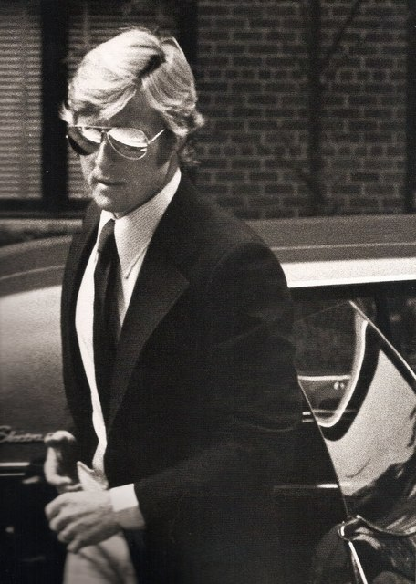 , 'Robert Redford arriving at Mary Lasker's Apartment, New York,' 1974, Staley-Wise Gallery