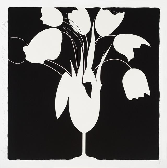 , 'White Tulips and Vase, Feb 25, 2014,' 2014, Heather Gaudio Fine Art