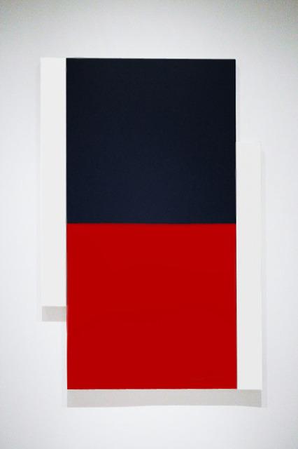 , 'Poles White, Black, Red,' , Peter Blake Gallery
