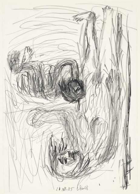 Georg Baselitz, 'Untitled (Mutter mit Kind - Pastorale)', 1985, Opera Gallery