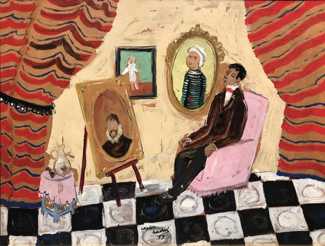, 'Interior,' 1955, Galeria Jordi Pascual