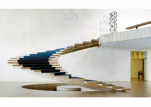 , 'The Itamaraty Palace - Foreign Relations Ministry, spiral stairs, Brasilia,' 2012, [Perpitch et Bringand]