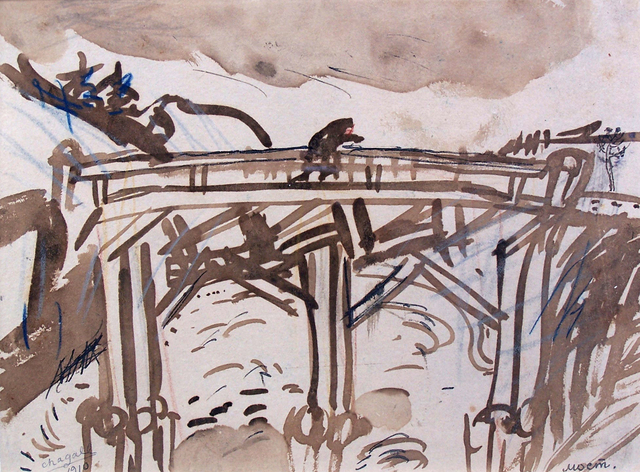 , 'Bridge,' 1910, Gilden's Art Gallery