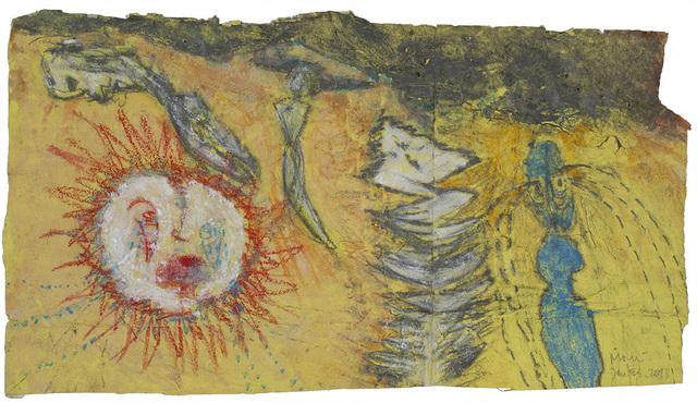 , 'Der Schrecken (bunt) [The horror (colorful)],' 2013, Cavin Morris Gallery