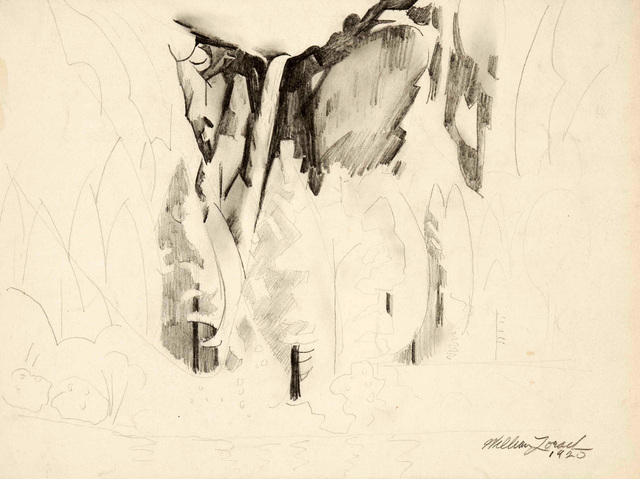 , 'Yosemite - The Falls,' 1920, Gerald Peters Gallery