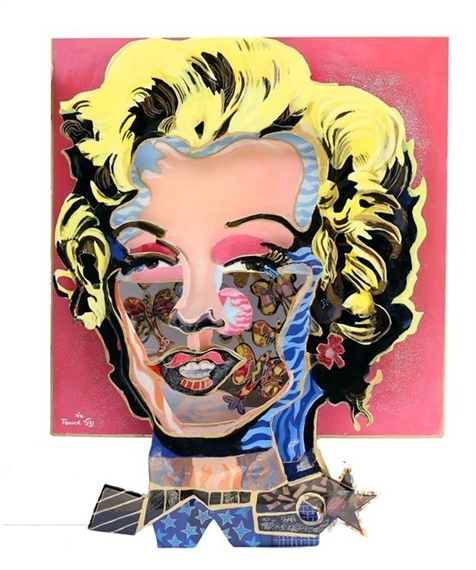 Touvia Naftali Besanson, 'Marilyn Monroe', 2016, Il Concept Art Gallery