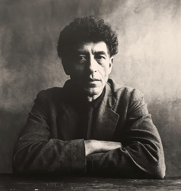 Irving Penn, 'Alberto Giacometti', 1950, Robert Klein Gallery