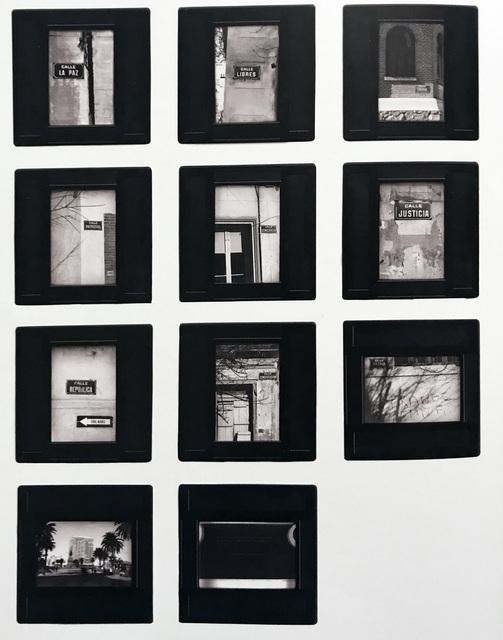 , 'Proyecto,' 1973, Galería del Paseo