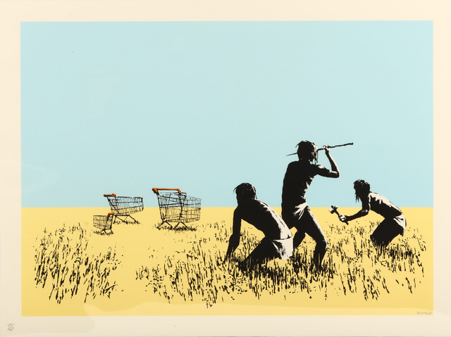 Banksy, 'Trolleys (Colour)', 2007, Chiswick Auctions