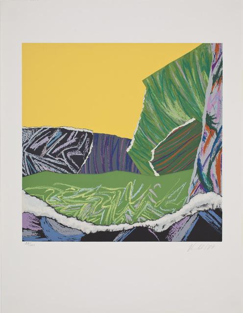 , 'Paisaje de juguete amarillo,' 1987, Praxis Prints