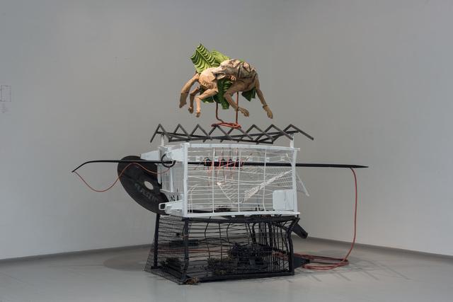 , 'Sandwich With Efforts on Both Sides,' 2017, Galerija VARTAI
