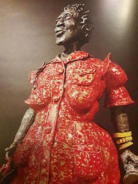 , 'Domestic Worker in Red Dress,' 2010, Erdmann Contemporary