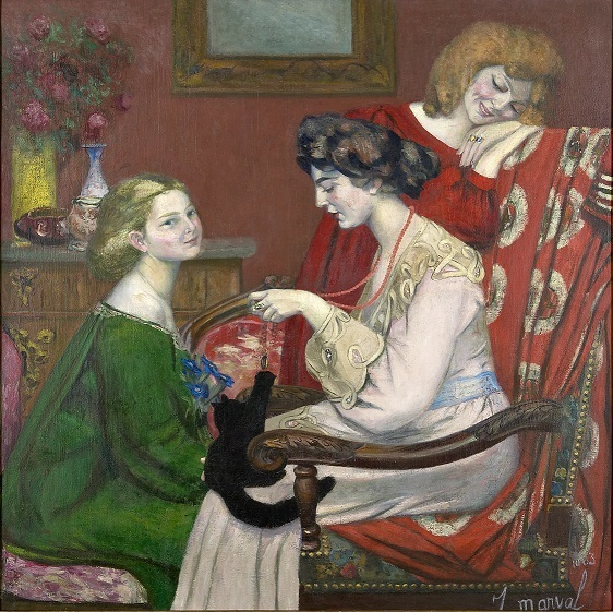 , 'Les Coquettes,' 1903, Artvera's Art Gallery