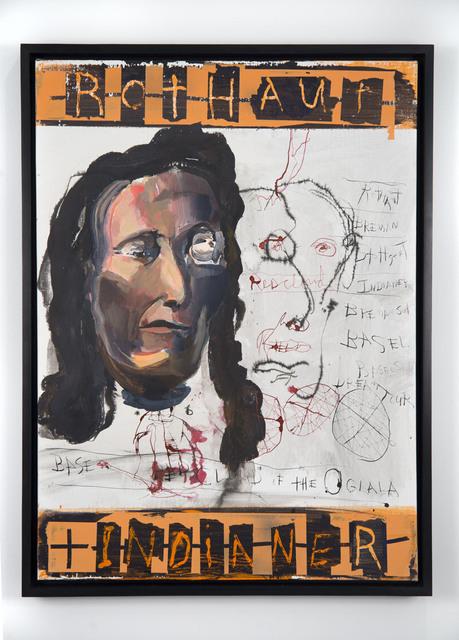 , 'Rothaut Indianer,' 2014, Jack Shainman Gallery