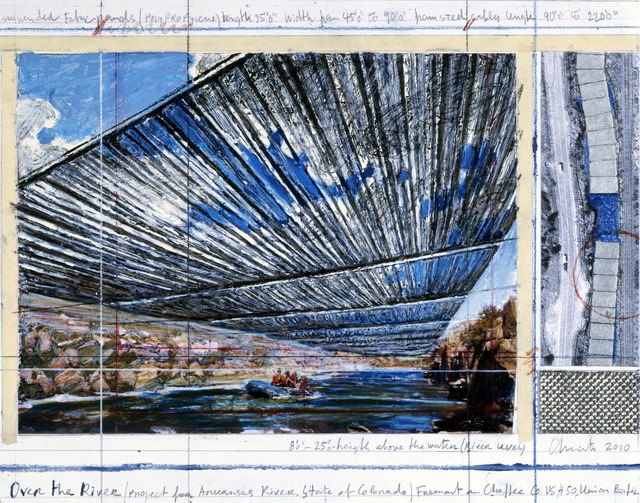 Christo, 'Over The River, Project for Arkansas River, State of Colorado,' , Gallery Guy Pieters