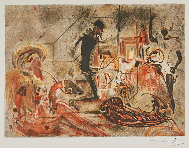 Salvador Dalí, 'Studio of Dali', 1965, Rago