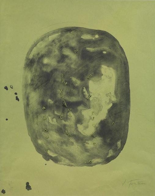 Lucio Fontana, 'Concetto Spaziale. Vite', 1968, Itineris